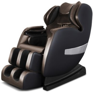 A600 S-Track Reclining Adjustable Width Heated Full Body Massage Chair Latitude Run Upholstery Color: Mix