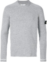 Stone Island long-sleeve pullover - men - Polyamide/Wool - S