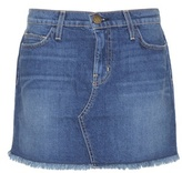 Current/Elliott Mytheresa.com Exclusive The Cut Off Denim Miniskirt