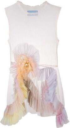 Viktor & Rolf Rainbow Swirl dress