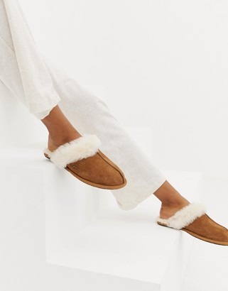 UGG Scuffette II slippers in chestnut