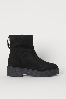 H&M Pile-lined ankle boots