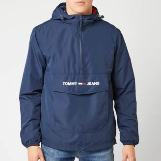 Tommy Jeans Men's Lightweight Pop Over Jacket