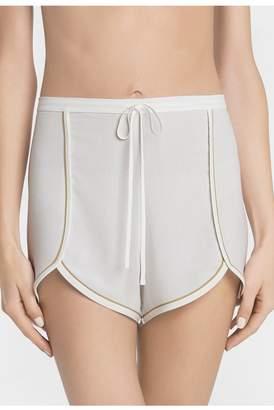 La Perla Belinda Off-White Poplin Short Pyjamas
