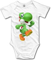 Rainbow Lovely Baby For 6-24 Months Newborn Baby Happy Yoshi Short Sleeve Size 6 M