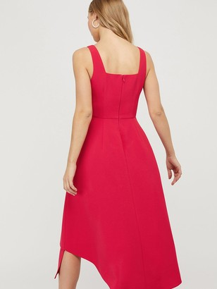 Monsoon Poppy Sustainable Plain Dress - Pink