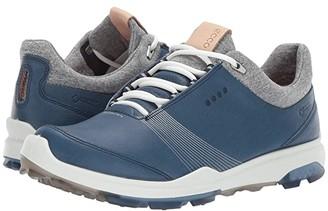 Ecco Biom Hybrid 3 GTX (White/Black) Women's Golf Shoes