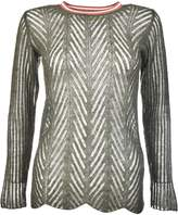 Chiara Bertani Perforated Sweater
