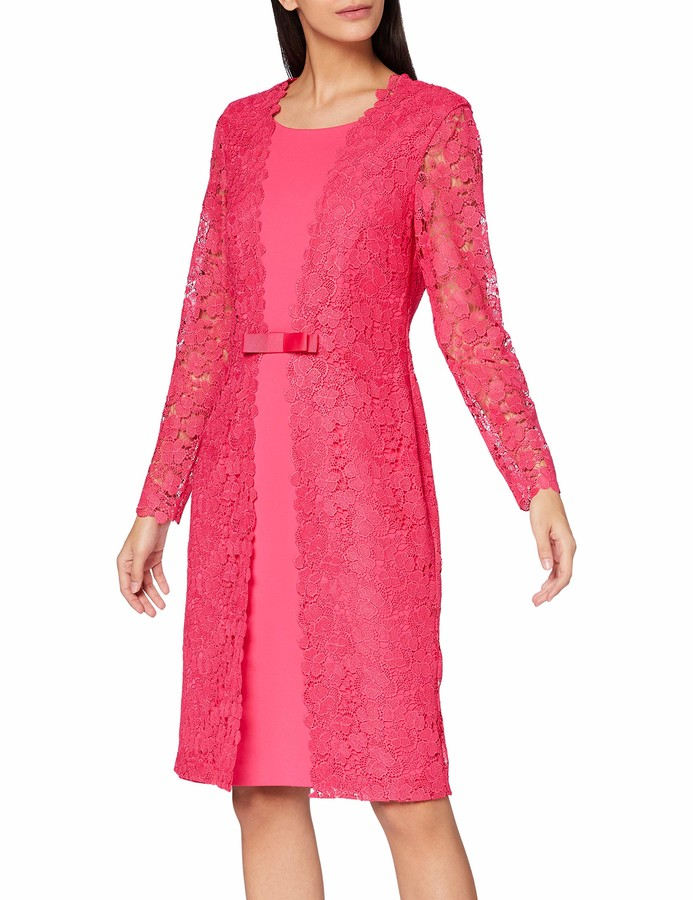 Thumbnail for your product : Gina Bacconi Women's Summer Lace and Crepe Dress Mother of The Bride