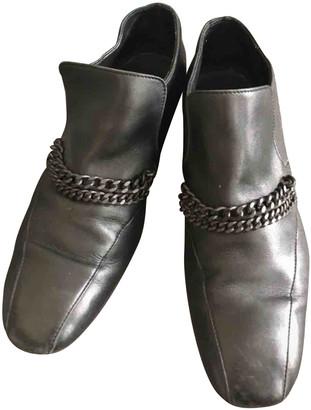 Bottega Veneta Anthracite Leather Boots