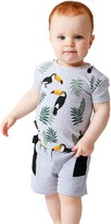 Thumbnail for your product : TINY TRIBE Toucan Print T-Shirt