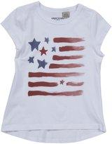 E-Land Kids Flag Tee (Toddler/Kids) - White-6X