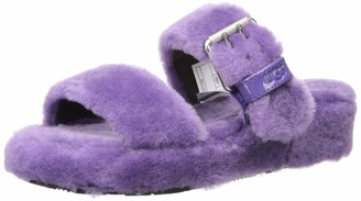 UGG Women's Fuzz Yeah Wedge Sandal