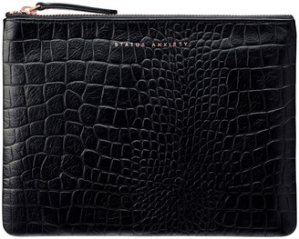 Status Anxiety SA1635 Fake It Zip Top Pouch