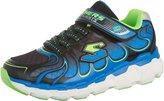 Skechers Boys' S Lights Skech-Rayz Sneaker Black/Lime Size 13 M