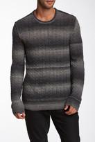 John Varvatos Star USA By Space Dyed Crew Neck Sweater