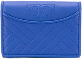 Tory Burch quilted wallet - women - Leather - One Size