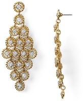 AQUA Drop Tiered Earrings