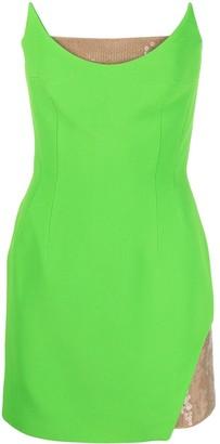 David Koma Sequin-Detail Mini Dress