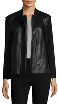 Lafayette 148 New York Dane Leather Jacket