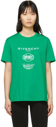 Givenchy Green Spirit T-Shirt