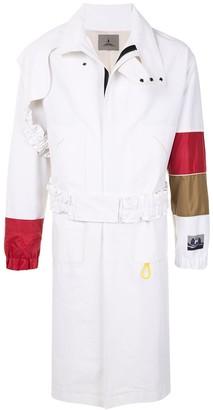Boramy Viguier Contrast Details Trench Coat