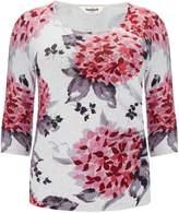 Studio 8 Plus Size Hydrangea print jumper