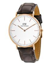 Daniel Wellington York 0111DW Men's Stainless Steel Analog Watch