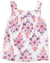 Carter's Floral-Print Tank Top, Little Girls (2-6X)