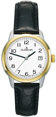 Dugena Women's Analogue Quartz Watch with Leather Strap 4460714