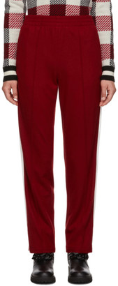 Rag & Bone Red Rylie Track Pants