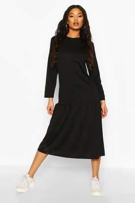 boohoo Midaxi Smock Dress