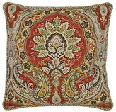 Rose Tree Harrogate Damask & Geometric Reversible Square Pillow