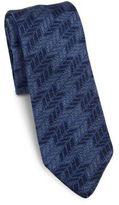 hook + ALBERT Chevron Knit Silk Tie
