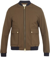 Oliver Spencer Bermondsey gabardine bomber jacket