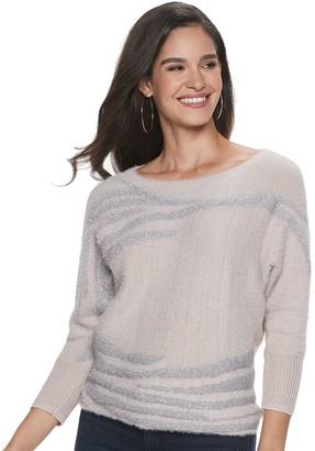 JLO by Jennifer Lopez Women's Pullover Top