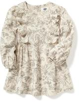 Old Navy A-Line Ruffle Dress for Toddler