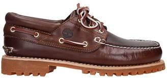 Timberland Loafers In Brown Leather
