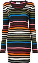 Sonia Rykiel striped fitted dress - women - Cotton/Polypropylene - XS