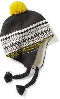 Old Navy Fair Isle Pom-Pom Trapper Hat for Men