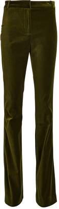 Veronica Beard Colt Flared Velvet Pants