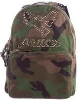 Valentino Peace Camo Rockstud Backpack w/ Tags