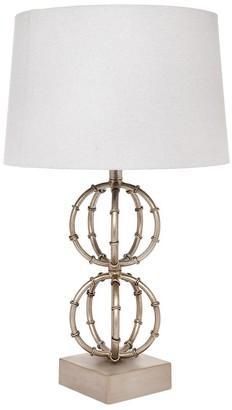 Cafe Lighting Lela Table Lamp Antique Silver
