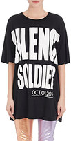 "Haider Ackermann Women's ""Silence Soldier"" Cotton T-Shirt"