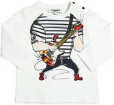 Junior Gaultier Rocker Printed Cotton Jersey T-Shirt