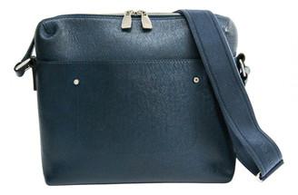 Louis Vuitton Grigori Blue Leather Bags