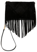 Steve Madden Porter Fringe Faux Leather Crossbody