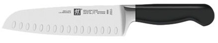 """Zwilling J.A. Henckels Zwilling Pure 7"""" Santoku Knife with Bolster"""