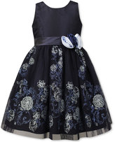 Jayne Copeland Glitter Floral Ball Gown, Little Girls (4-6X)