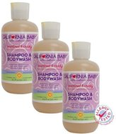 California Baby Overtired & Cranky Shampoo & Bodywash - 8.5 oz., Set of 3 by